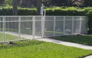 white fencing miami fl