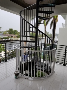 Spiral Staircase Ft Lauderdale