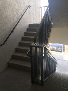 ADA compliant stair railings in Miami