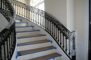 artistic custom railings stair railings