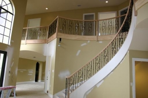 Artistic custom railings interior railings